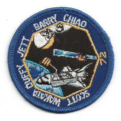 NASA SPACE SHUTTLE ENDEAVOR STS-72 Embroidered Sew-on Patch