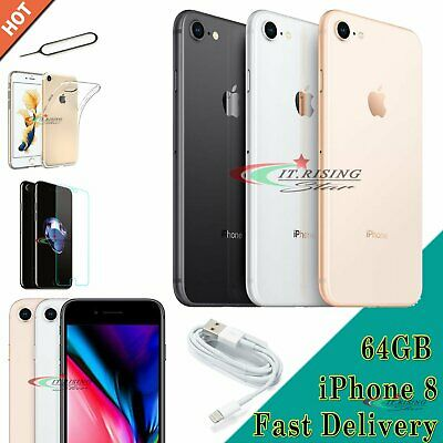 New Unlocked Apple iPhone 8 Sim Free Mobile Smartphone Various Colours 64GB UK