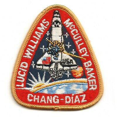 1989 NASA SPACE SHUTTLE STS-34 Embroidered Iron-on Patch