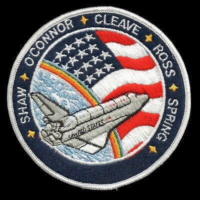 1985 NASA SPACE SHUTTLE STS-61-B Embroidered Iron-on Patch