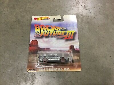 Hot Wheels Back to The Future III Delorean time Machine, FREE shipping!
