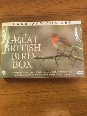 The Great British Bird Box - 4 x DVD Boxset - BB