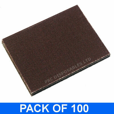 100 x Griddle Cleaner Mesh Screens For Heavy Duty Cleaning on BBQ, Ovens, Grills