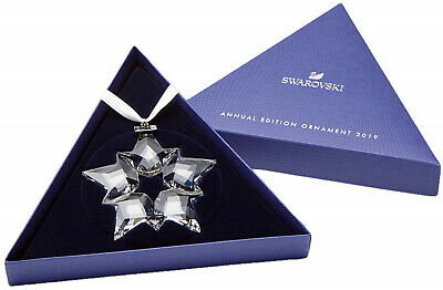 Swarovski Crystal Snowflake ANNUAL EDITION 2019 Christmas Ornament Star 5427990