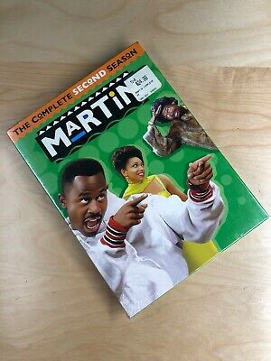 Martin: Complete Second Season Two 2 S2 Lawrence DVD, 2007, 4-Disc Set 1st Press
