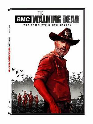 The Walking Dead: The Complete Ninth Season 9 (DVD, 2019, 5-Disc set) NEW!