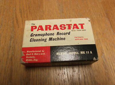 The Parastat Gramophone Record Cleaning Machine Model MK 11 A