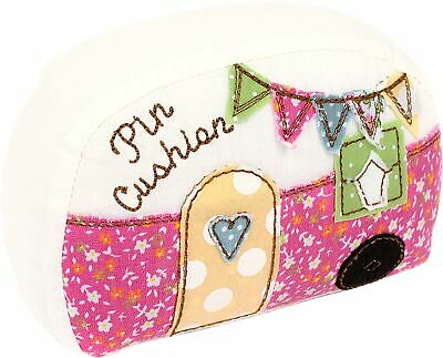 Fabric Editions Needle Creations Pincushion Kit-Camper
