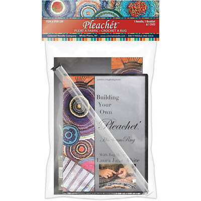 Colonial Needle Pleachet Rug Needle, How-To Booklet & Dvd-, PHR-200