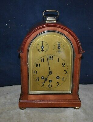 Antique Wurttemberg Germany Westminster Chime Clock - Arch Top, Inner Dials