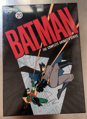 Batman The Complete Animated Series (12 DVD DISCS) Box Set Brand New USA seller