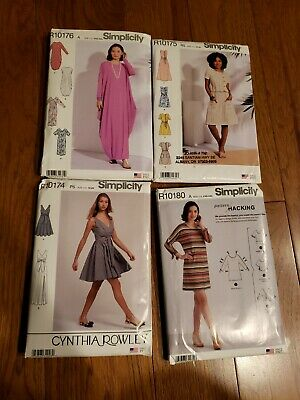 HUGE LOT 4 MISS SIMPLICITY SEW Pattern DRESS CAFTAN NEW FACTORY FOLDED PLUS SIZE