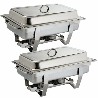 Olympia (Pack of 2) Milan Chafing Dish Special Offer BARGAIN