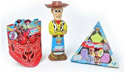 Disney Toy Story Bath Time Bundle Magically Add Colour To Your Bath Water NEW_UK