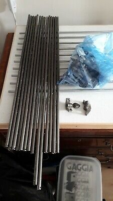 Antique Style Pewter Stair Rods With Pine Cone Finials