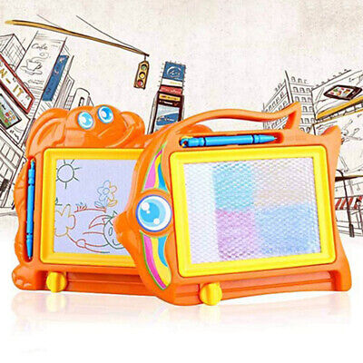 Magnetic Drawing Board Sketch Pad Erasable Writing Craft Art for Children Kids--