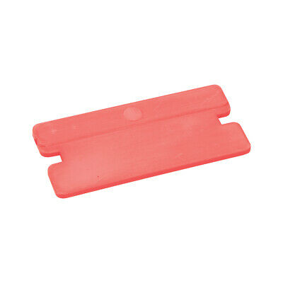 100 PACK - 40mm Plastic Paint / Sticky Adhesive Scrapers - Glass Oven Cleaning