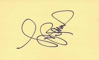 Lou Rawls Singer Songwriter Actor 1977 Music Autographed Signed Index Card