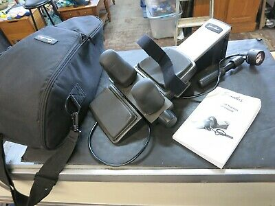 Saunders Cervical Traction Device Neck Spine Therapy w/ Carrying Case & Manual
