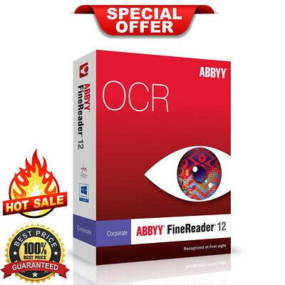 ABBYY FineReader Professional 12 🔒 Lifetime License Key 🔥 (INSTANT DELIVERY)
