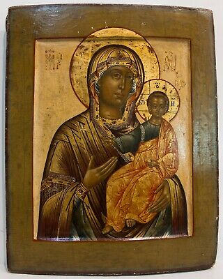 Russian Icon of Iverskaya Mother of God, 20th century