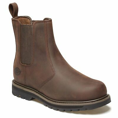 Dickies Trinity Non-Safety Dealer-Style Boots, Size 11 in Brown