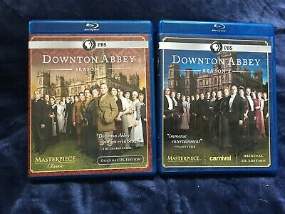 Downton Abbey ~ Complete Second & Third Season 2 3 ~ Ec Dvds Blu-Ray