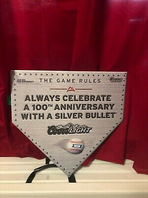NESN Coors Light Tin Beer Sign For The Man Cave