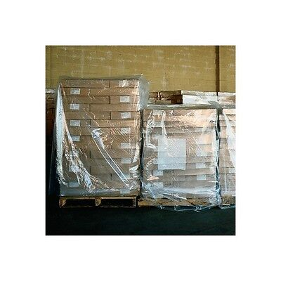 """Pallet Covers, 2 Mil, 58"""" x 43"""" x 76"""", Clear, 50/Case"""