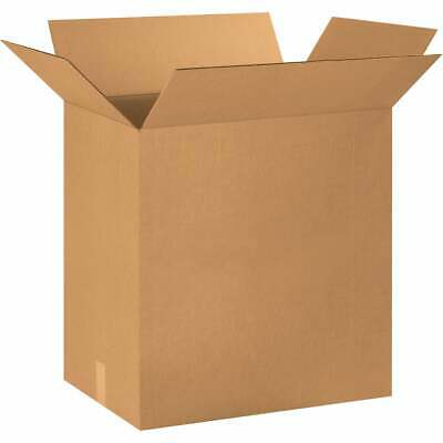 "Corrugated Boxes, 24"" x 16"" x 24"", Kraft, 10/Bundle"