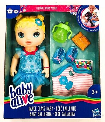 Baby Alive Time For Dance Class Doll Hasbro Girls Toy 3 4 5+ Year Christmas Gift