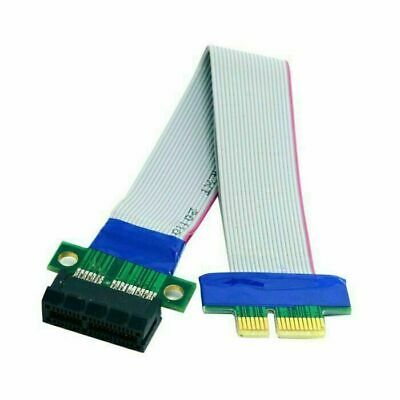 Xiwai Extender Extension Ribbon Relocate PCI-E Express 1X Slot Riser Card Cable