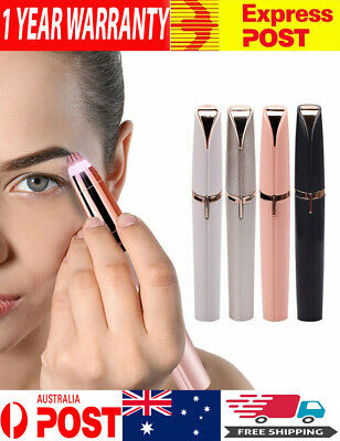 Electric Eyebrow Trimmer Facial Hair Removal LED Light Nose, Ear Hair Trimmer