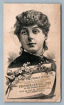 Photograph Gallery Columbus Oh Victorian Trade Card