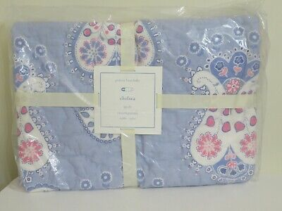 Pottery Barn Baby Chelsea Toddler Quilt New