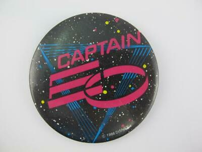 Disney 1986 Vintage CAPTAIN EO Micheal Jackson Cast Member Opening Button Pin