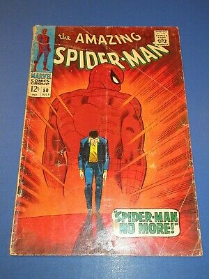 Amazing Spider-man #50 Silver age 1st Kingpin Huge Key Lower Grade