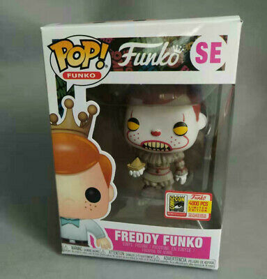 Funko Pop Vinyl Figure SE Freddy Pennywise LE 4000 Fundays 2018 SDCC with BOX