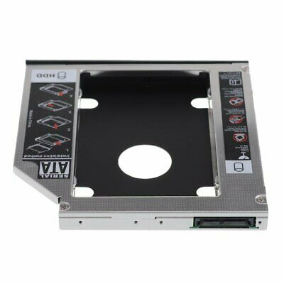 Xiwai 9.5mm SATA 2 HDD SSD Enclosure Hard Drive Case Tray for Laptop CD DVD-ROM