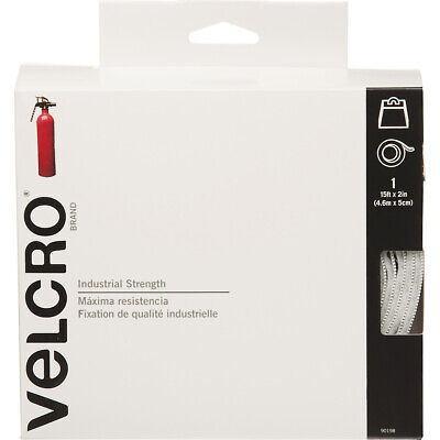 Velcro Industrial Strength Sticky-Back Hook & Loop Fasteners, 2 x 15 ft Roll