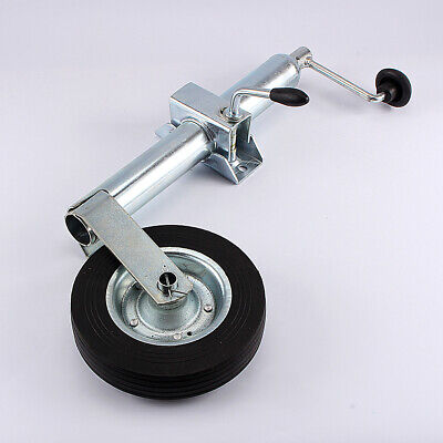 48mm Jockey Wheel 150kg 200mm Wheel and 48mm Heavy Duty Cast Clamp for Trailer