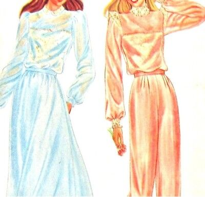 Butterick 3485 Sewing Pattern Misses Blouse Camisole Skirt Pants Uncut Size 8