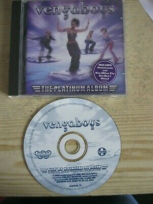 Vengaboys - The Platinum Album. (Cd 2000). Ean: 724352595303.