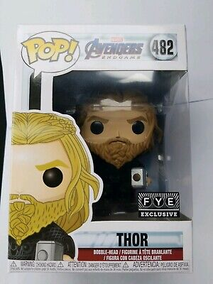 "Funko Pop! Marvel Avengers Endgame ""Thor"" #482 FYE Exclusive"