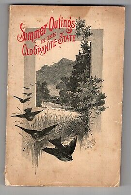 1891 Concord & Montreal Railroad, Summer Outings In The Granite State