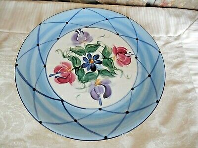 """Gail Pittman ANNABELLA 11"""" Dinner Plate  Excellent Condition Used Twice"""