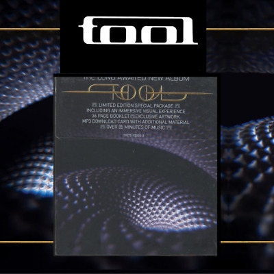 "Tool Fear Inoculum Limited Deluxe Edition (CD + 4""HD Screen+2W Speakers) IN HAND"