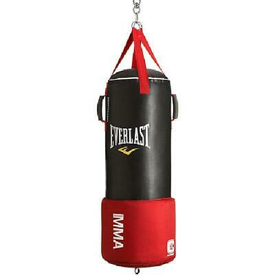 Free Standing Punching Bag Boxing Cardio Gray Kickboxing MMA Heavy Duty Spring