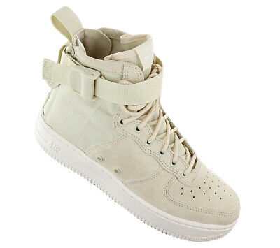 NUOVO NIKE SF Air Force 1 Mid Fossil (W) AA3966 202 Donna