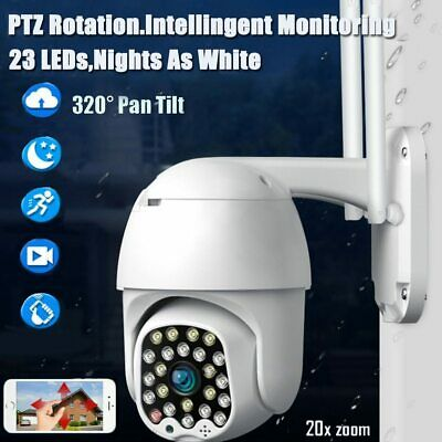 1080P Security IP Camera Video Wireless Waterproof Outdoor Home Motion Detection